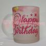 Happy Birthday Photo Printed Mug