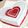Romantic Red Velvet Heart Cake- queen of all layer cakes.