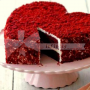 Red Velvet Heart Cake- queen of all layer cakes.
